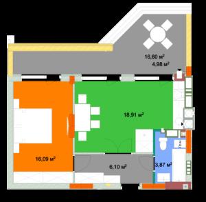 Квартира 1Б