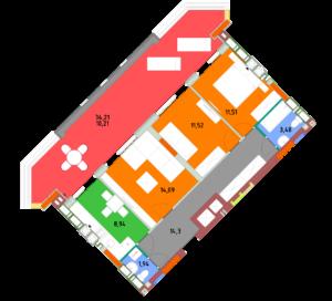 Квартира 3Б