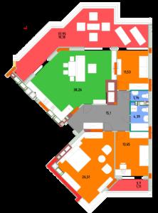 Квартира 3В