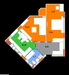 Квартира 2С