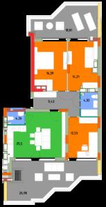 Квартира 4А