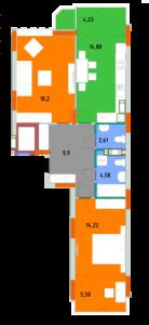 Квартира 2Б
