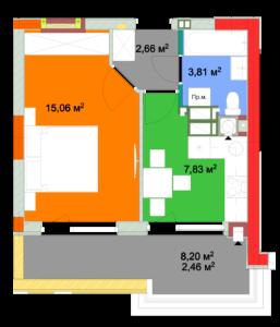 Квартира 1А